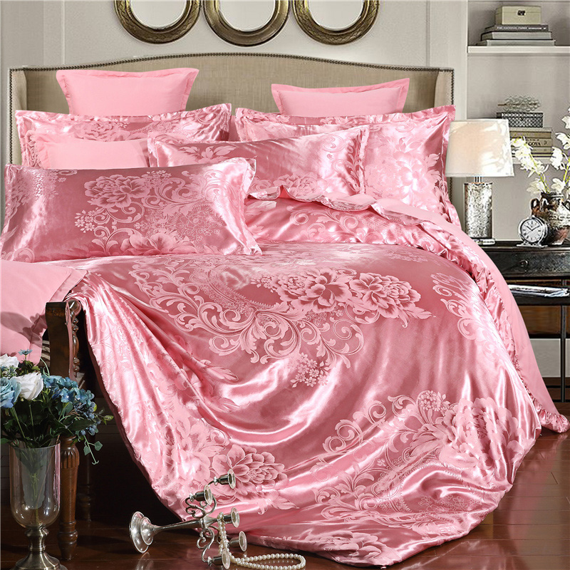 1.8 meters set of bedding Tencel products of European spent tribute four.5m/ bed provided with 1 double bed Satin Wedding Anniversary