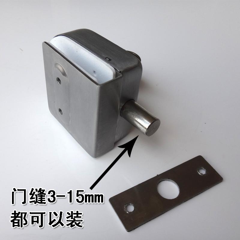 skleněné dveře, - což zámek nezarámovaná skleněná skleněné dveře zamčené dveře a zámek 单门 bez otvoru