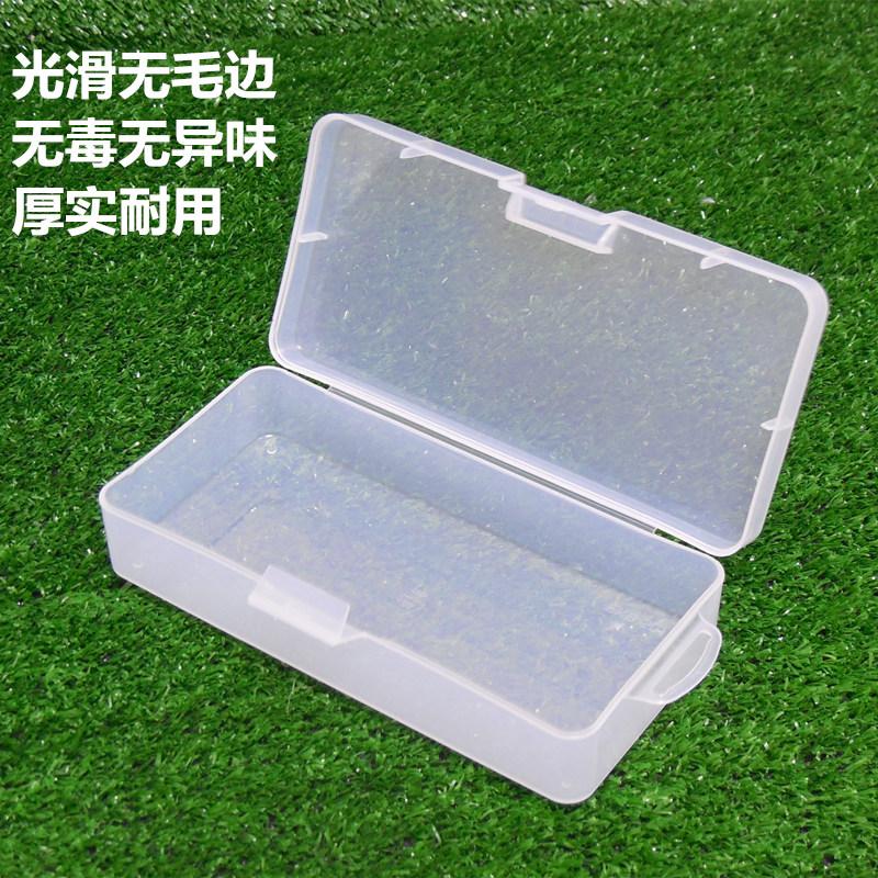grön öppet fält verktyg låda tomma fält del fält av plast som omfattas av en enda