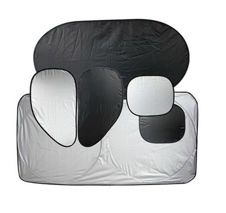 6 szt. samochodów, posrebrzane parasol, w celu ochrony przed światłem pad do izolacji cieplnej folii aluminiowej osłony przeciwsłonecznej torbe sun block parasol?