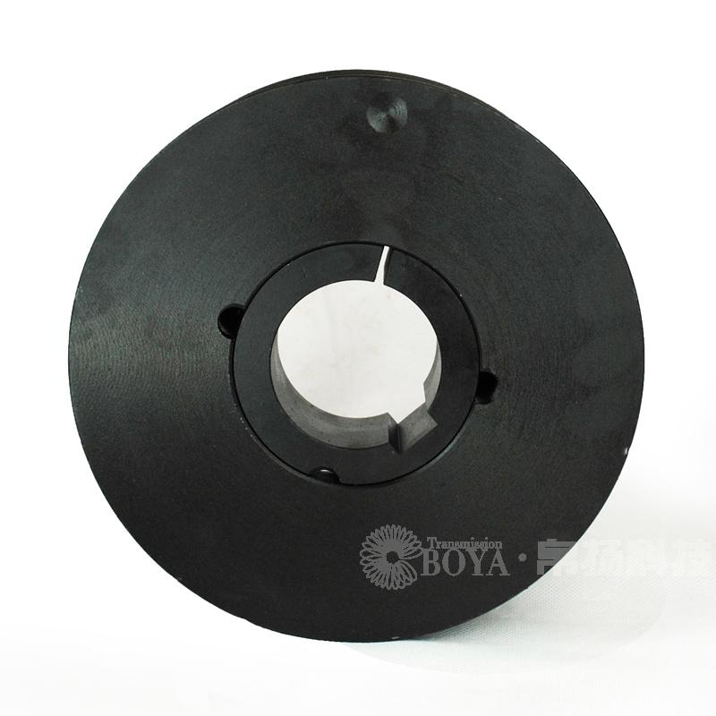 Iron standard V belt pulley, 4 slot spa belt taper sleeve 2517 cast iron air conditioner belt pulley equipment type