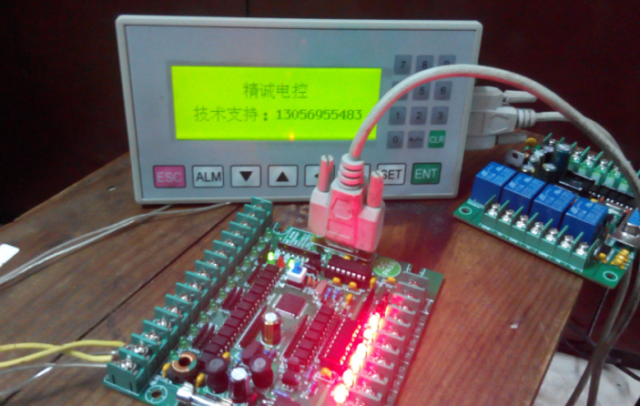 真心20MT単板PLC制御に加えOP320-aスーツ、三菱ソフトウェア互換性