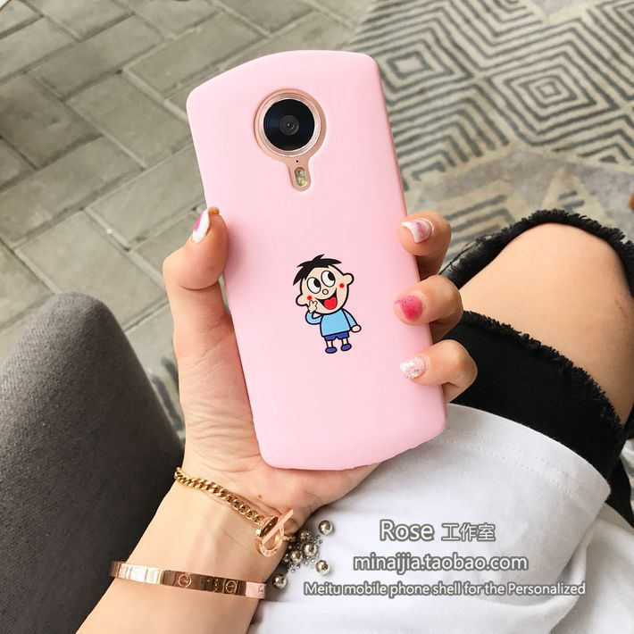 Original cartoon milk beauty figure M4/M8 mobile phone shell M6s/T8 frosted soft shell full of personality