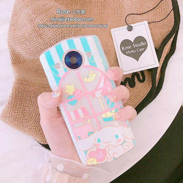 Young girl's heart is cute, white dog M8, V4M4M6s soft shell T8 mobile phone shell