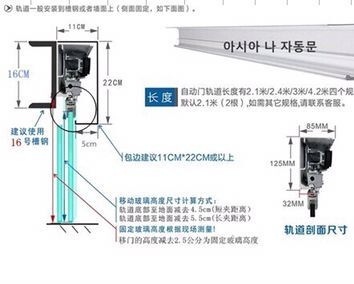 Nanjing automatic door installation induction door unit three Pu automatic door unit Depp Er automatic door accessories