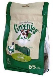 미국 그린 Greenies 洁齿 뼈 아주 작은 65 자루 척 애완동물 간식 애완동물 물다 고무 애완동물 洁齿