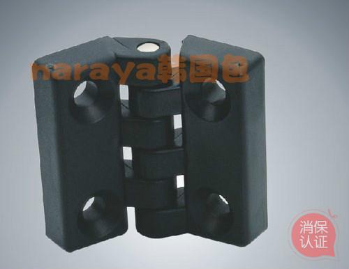 Ein plastik - scharnier am scharnier vier ecken ein scharnier - Maschine - Kabinett