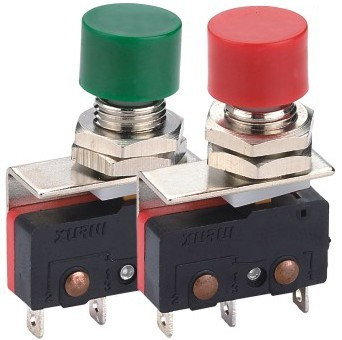 DS428 button type limit touch switch, inching switch, silver contact position switch, silver contact