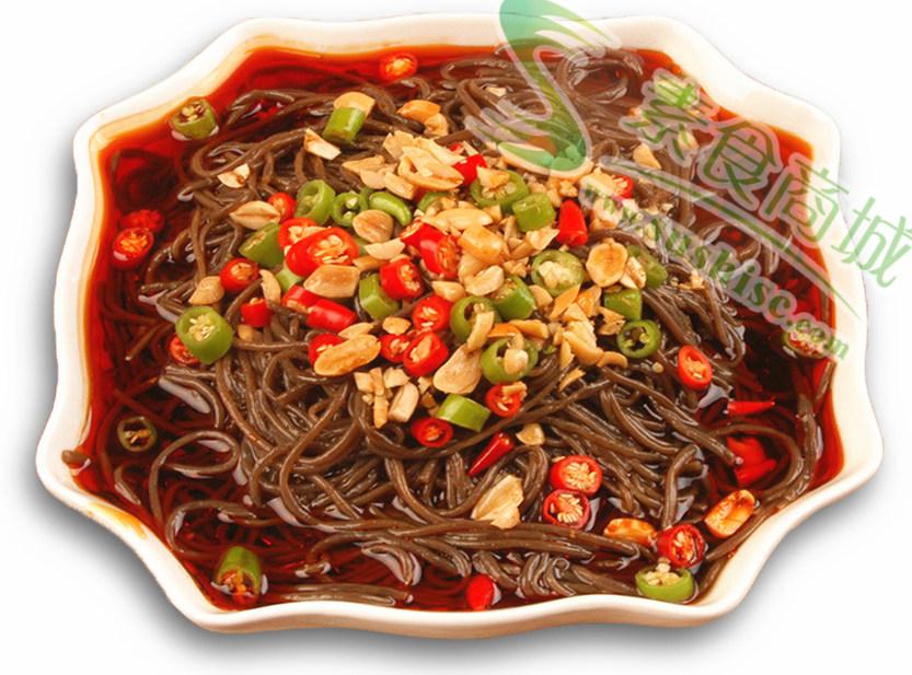 蕨根粉丝10袋起包邮九寨山珍天然野生蕨根粉条纯素食火锅斋菜食材