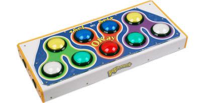 【 DJDAO 똑바로 欧姆龙 마이크로!Pop'nMusicASC 컨트롤러!PC 및 PS2 치솟는다!