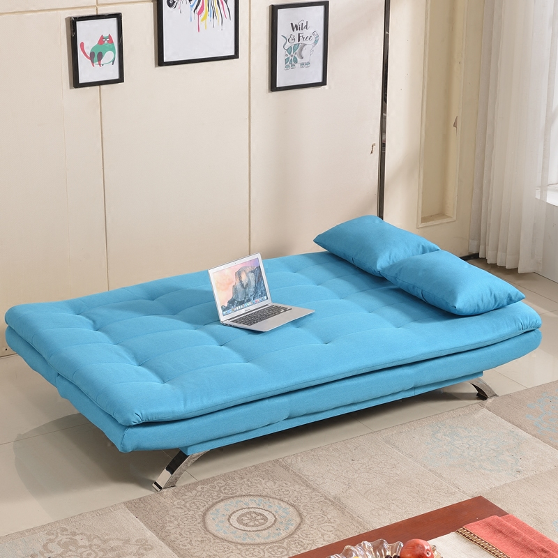 Simple sofa bed can be folded 1.2 meters large-sized apartment living room sofa bed single multifunctional detachable