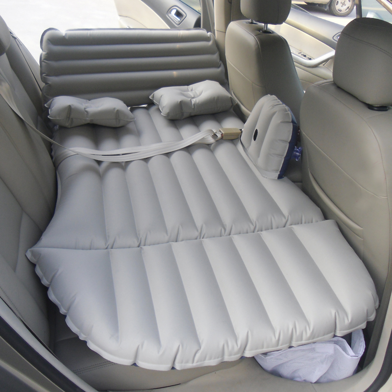 With the inflatable mattress bed car travel supplies creative car bed mattress baby car rear children