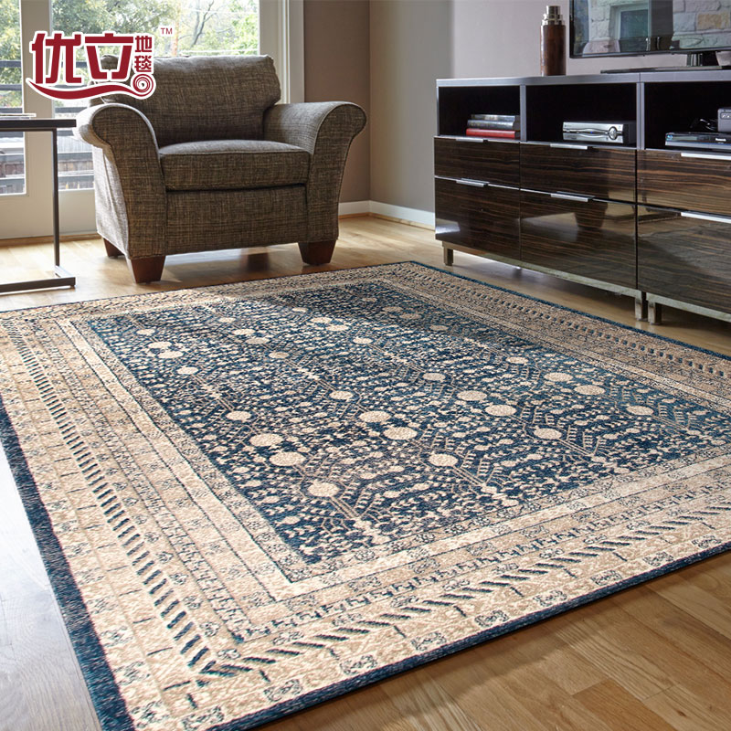Turkey import carpet living room, Chinese simple bedroom carpet, bedside blanket shop, buy one to send one