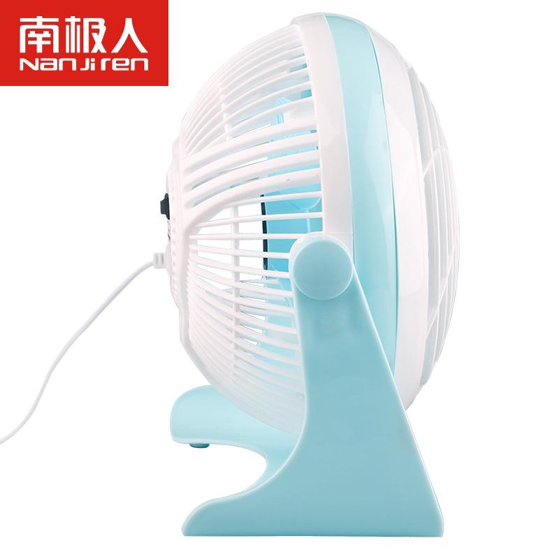 - stomme 6 centimeter zuidpolers kleine fan fan van mini - fan USB - fan klem.
