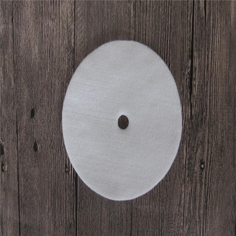 Gyöngyök polírozása pamut gyöngyök polírozás kerék gyapjú nemez polírozó kerék Amber fa fényezés speciális átmérő 180MM
