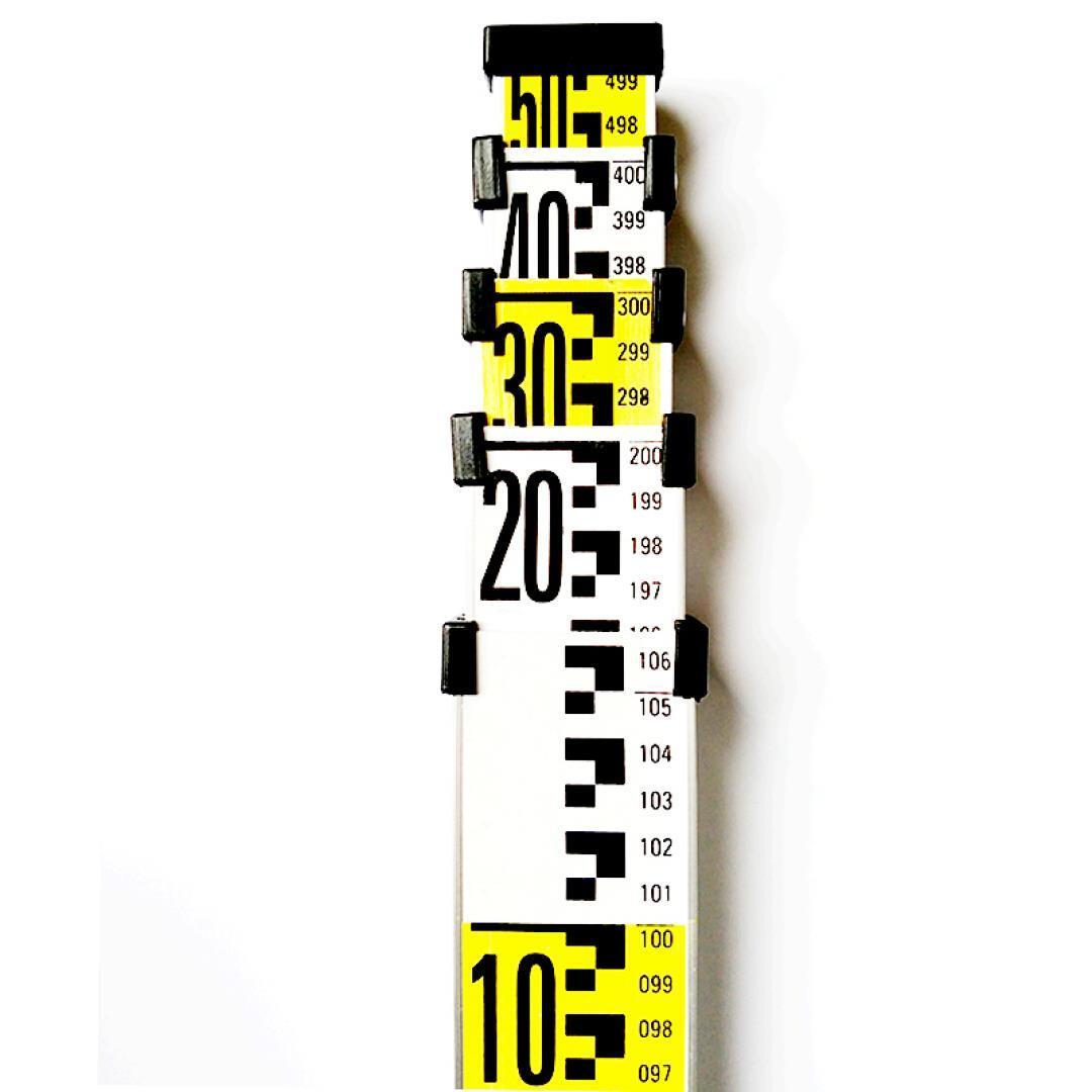 อลูมิเนียม 5 เมตรหอเท้า 3 meta ได้ระดับ 5 เมตรฟุตไม้บรรทัดอลูมิเนียมหอเท้า