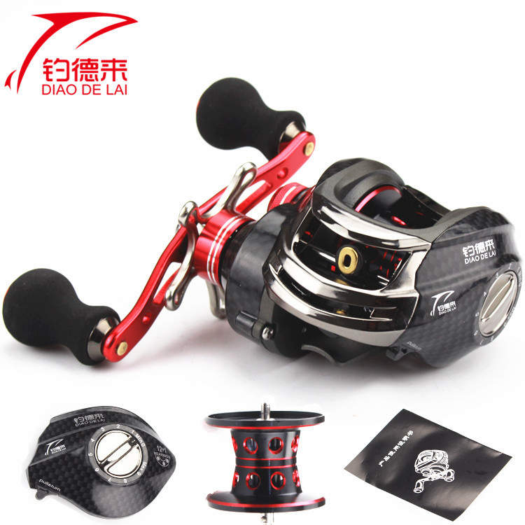 15 years of the new red 13 axis magnetic brake road Yalun water wheel left and right hand wheels spinning wheel gear wholesale