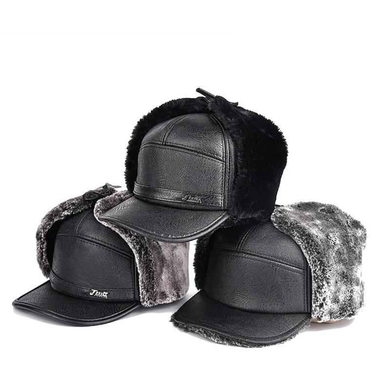 BEI älteren Menschen im Winter jeden tag eine kleine Hut: alte gap männlichen Hose warme mütze Claus Hut plus samt OPA