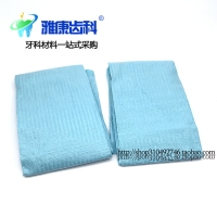 Dental materials disposable scarf, scarf, scarf, non-woven cotton scarf, dental materials department of Stomatology, five bags