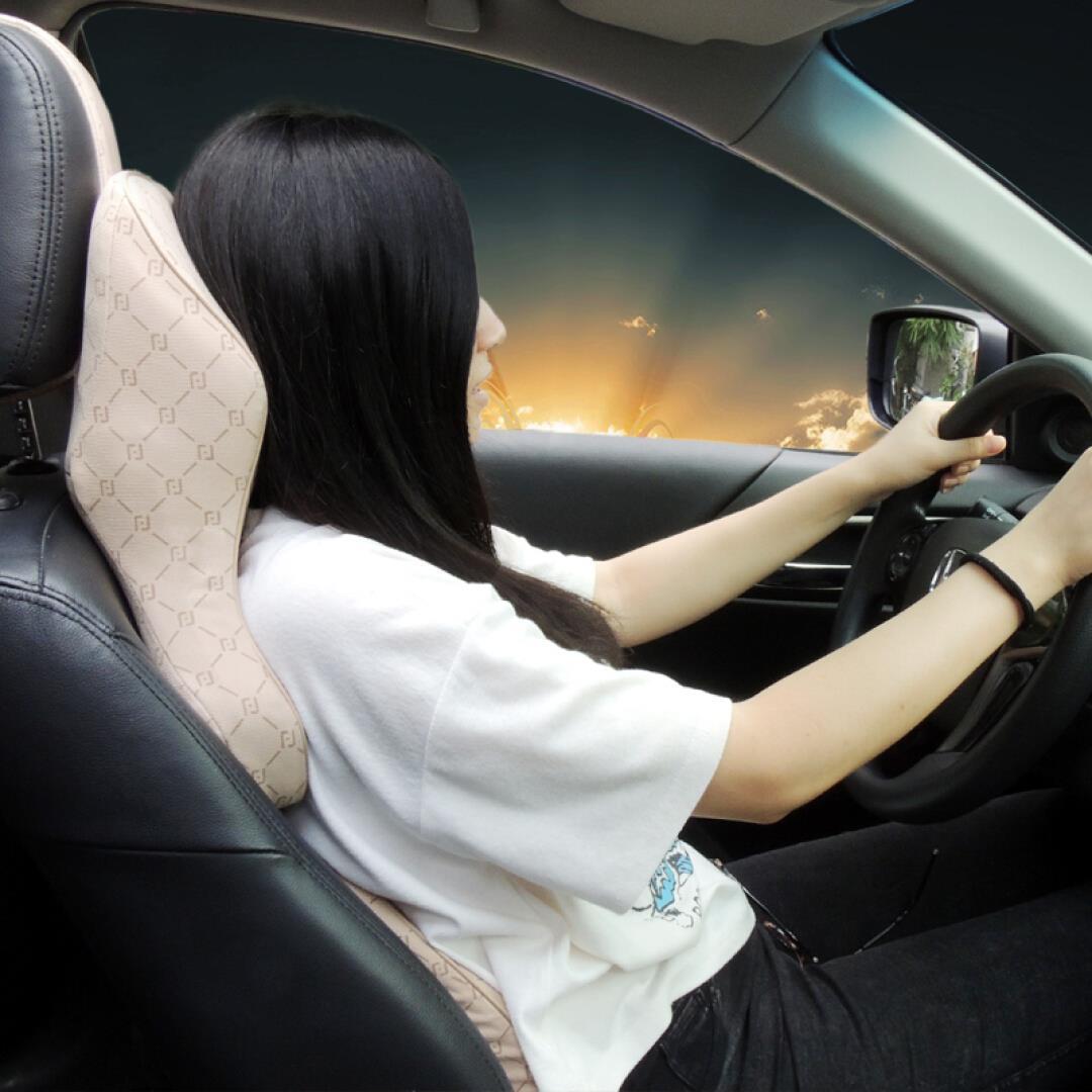福客思自動車ヘッドレストクッション車用護頚枕ひろくなる肩当て記憶綿車用ヘッドレスト