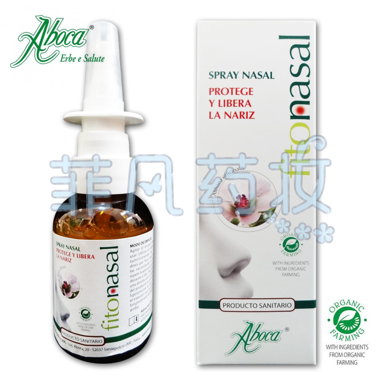 aboca fitonasal spray инструкция