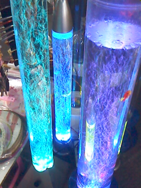 cannon lamp bubble fish tank water zhudeng dance lamp glow, bubble, Reel Combo