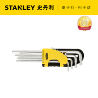 Genuine fastening, inner six corner wrench set, STANLEY 12 piece set, English six corner wrench, 92-620-23