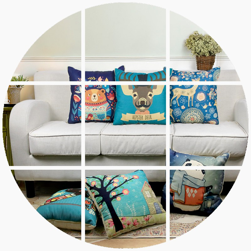 DIY custom pillow quilt pillow two is used to map custom photo car bed sofa cushion gift nap