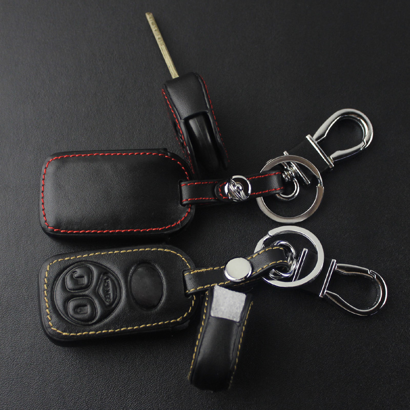 TOYOTA corolla key wrap, auto leather key sleeve, remote control protective sleeve buckle modification supplies