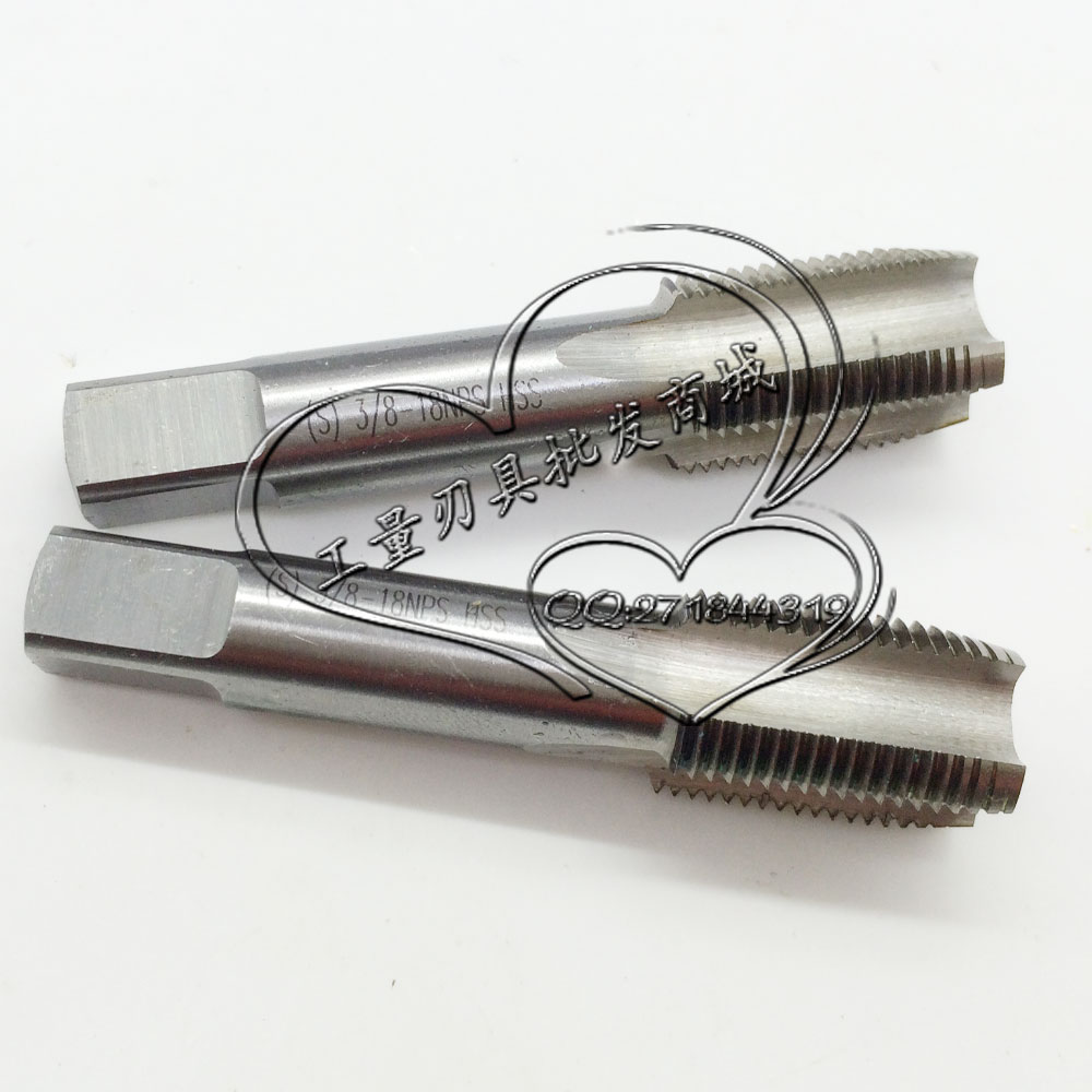 Quality assurance American Standard machine taps NPS3/4-14 us straight machine tapping for NPS3/4 stock
