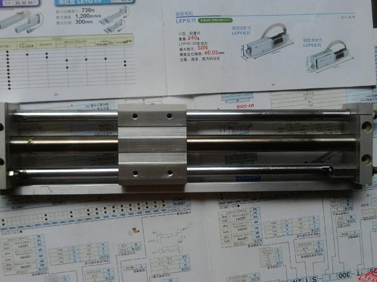 มือสองของแท้ไม่มีเสาต้น CDY1S15H-2508 SMC กระบอกใหม่ส่งรูปวันจริง