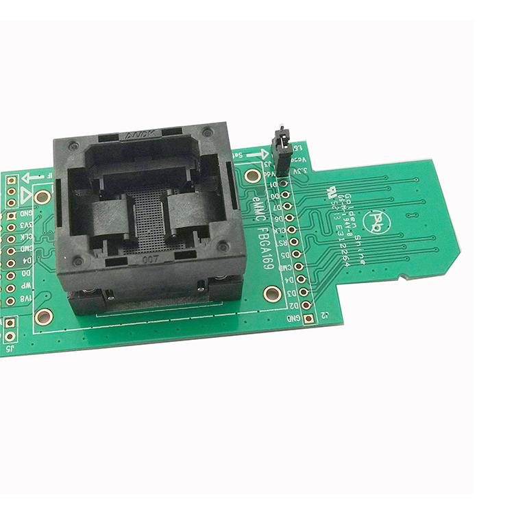 EMMC169 Test Sede eMMC153BGA153/169 SD interfaccia a bruciare la Struttura di pressione sotto il Sedile.