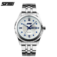 Armani CK mechanical genuine quartz watch waterproof strip men's business calendar's simple British style.
