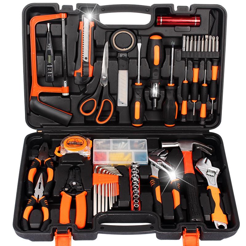 Auto repair toolbox kit three layer workshop lengthened three layer tool car storage box plastic trumpet car