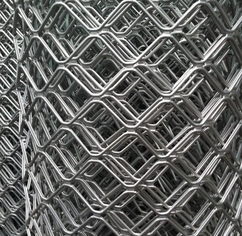 IL diamante di Alluminio in Lega di Alluminio, La Dimensione delle maglie della Rete Rete Rete Tele metalliche, Alluminio ampliato Le lenzuola antifurto per porte e finestre Decorazione La Rete di protezione 8.5cm buco mm di spessore