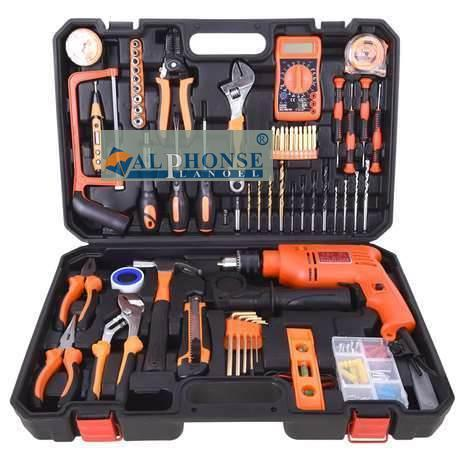 Household tool set, imported portable hardware kit, car repair