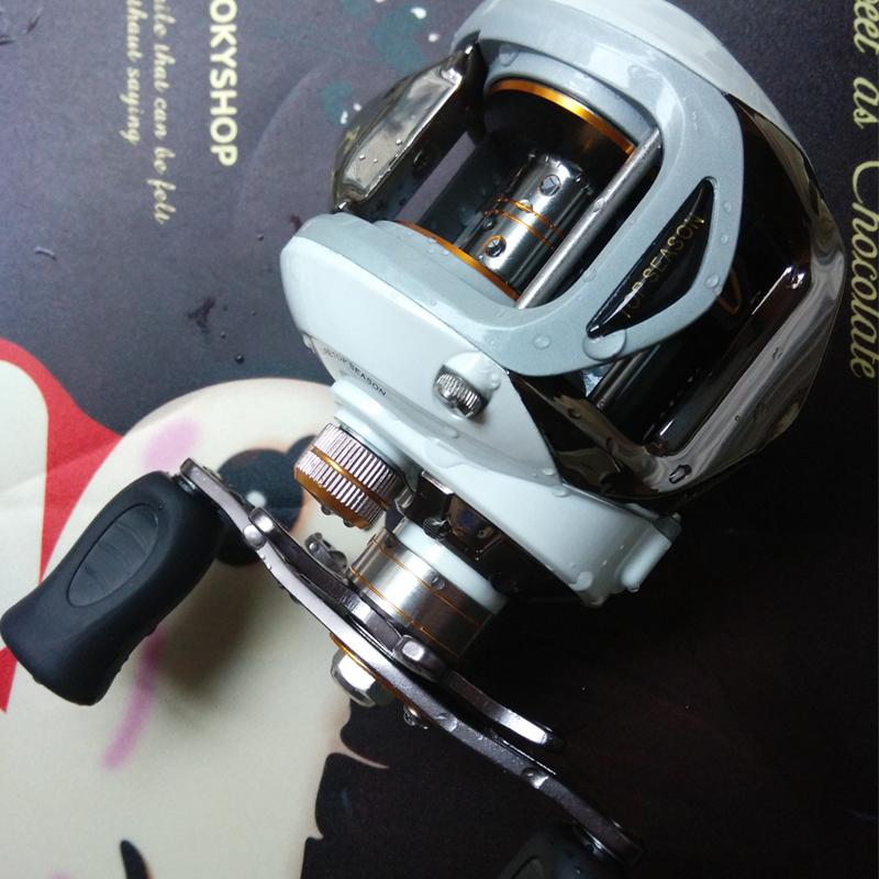 Les exportations des États - Unis d'bassproshops - roue de freinage magnétique de tangage des moulinets de pêche