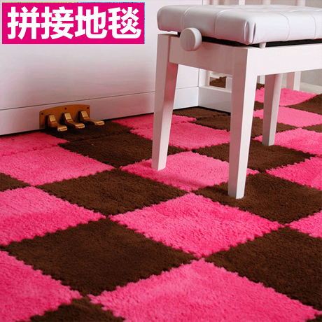 Children's puzzle mats cashmere thickened mosaic carpet covered with tatami floor mat bedroom crawling pad foam board