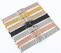 Substitute the Longines m L2L4 stainless steel watchband Unisex watch strap bracelet watch strap steel butterfly accessories