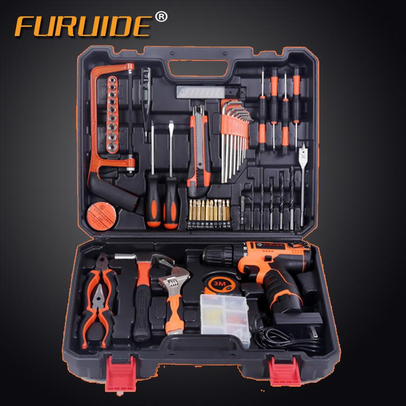12V - trapano UTENSILI a mano Hardware Kit degli attrezzi manutenzione Elettrica Suite