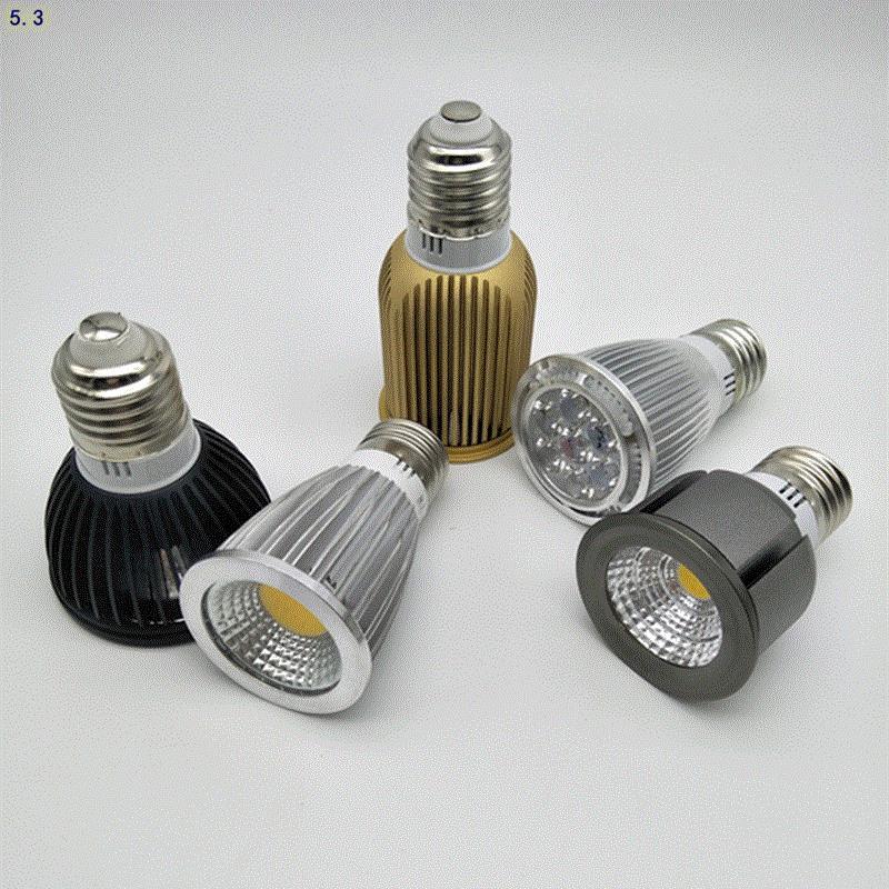 2017 restaurant magasin de vêtements de l'ampoule à économie d'énergie à vis de collecte de lumière de la source de lumière à del de projecteurs de la Chine continentale de lampe unique