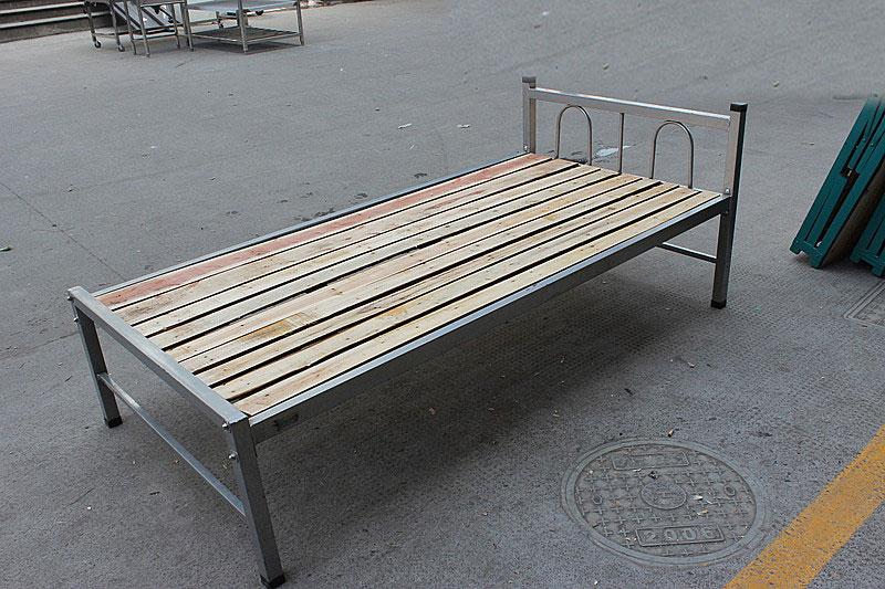 Los estudiantes de la cama de madera de encofrado de Hangzhou acero simple cama cama dormitorio con cama de hierro de una obra personal que contiene.