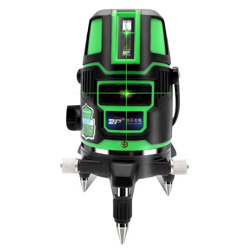 infrapuna - vihreä tasolla litium - 2 linja 3 linja 5 linja laserviiva tasolla osat ladattava akku.