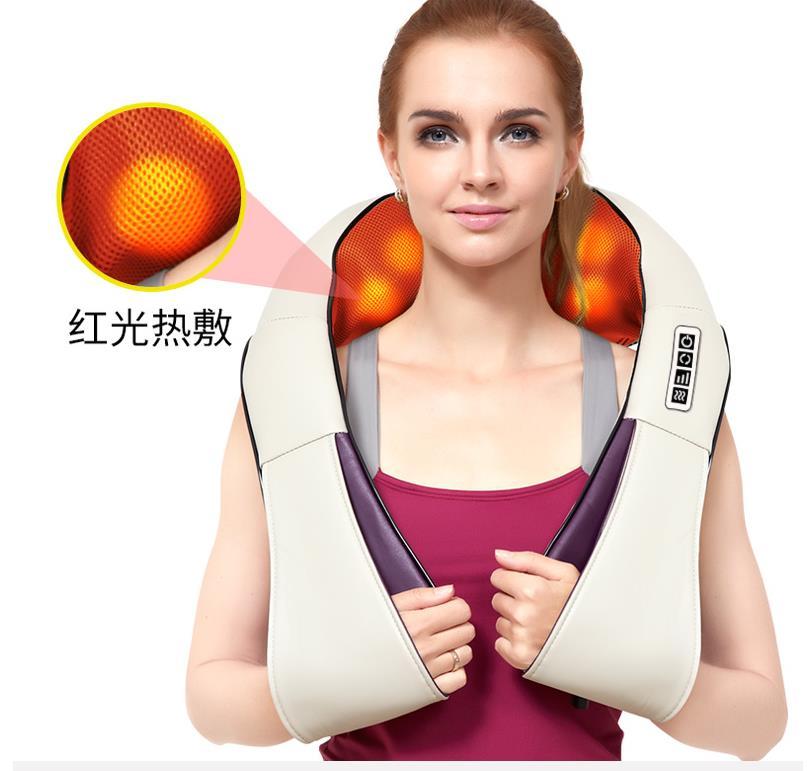 szal, szyjki macicy i masażu szyi ugniatania masaż ramion. wiele funkcji ogrzewania.