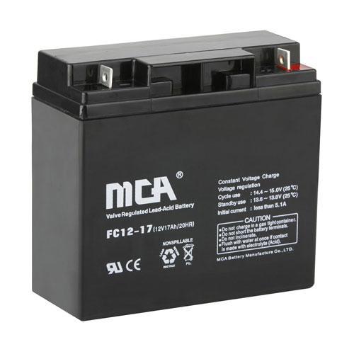 Rui brand battery, FC12-1712V17AH battery, UPS uninterruptible power supply, fire engine battery