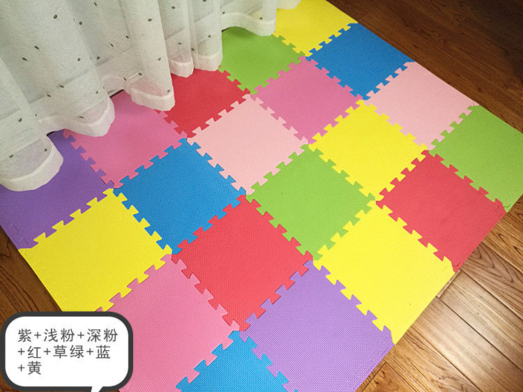 Thick 2cm Baby Bubble puzzle mats 30*30 floor flooring crawling tatami mat suits
