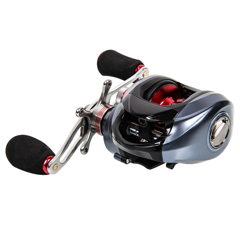 2015 new fishing house DW1000 left and right hand 11 axis magnetic water wheel brake road Yalun fishing reel