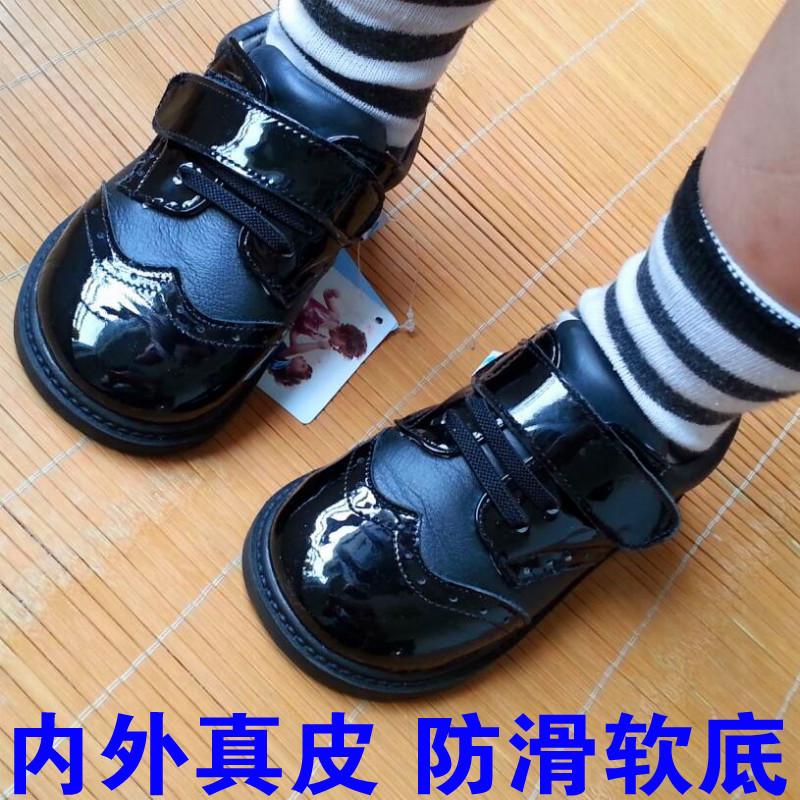 男童皮鞋英伦宝宝鞋子