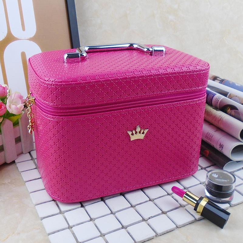 便携箱化妆箱盒小号包化妆包大袋收纳盒其他收纳袋大容量韩国可爱