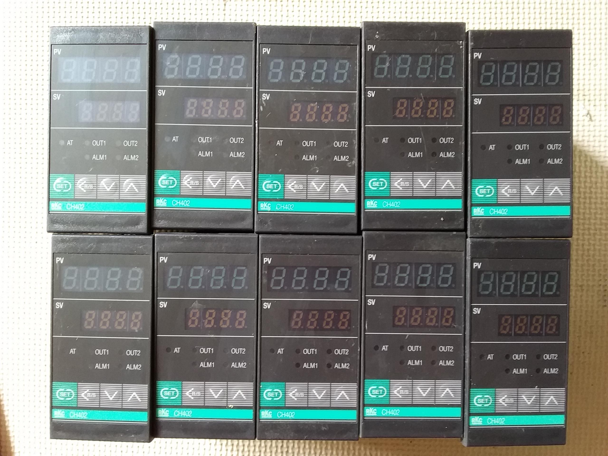 RKC CH402 de segunda mano desmontar termostato casero